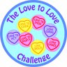 Love to Love Challenge Badge - Great fun for all age groups